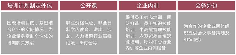 竞博jbo下载安卓培训服务外包产品分为以下类型